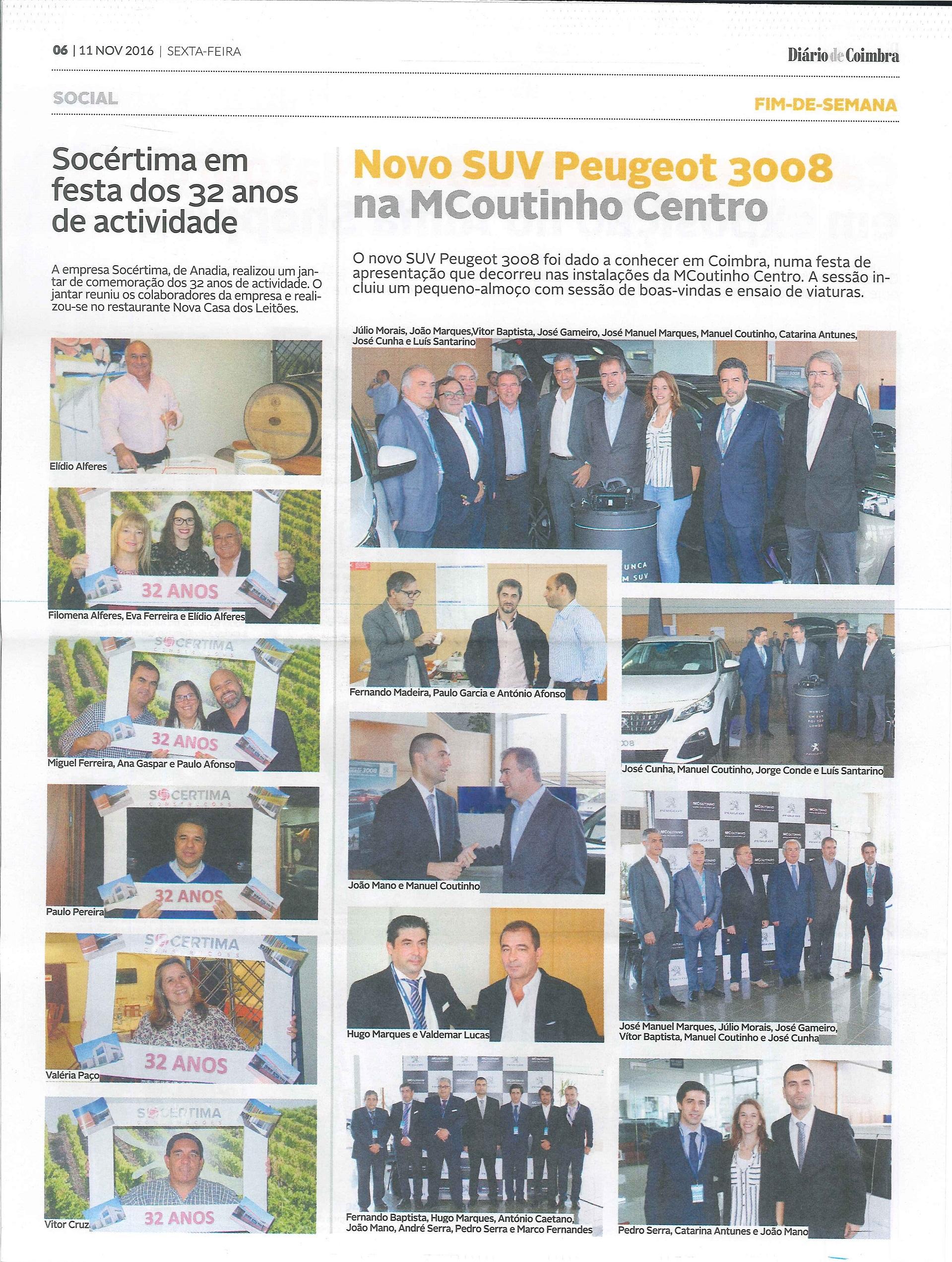 Diário de Coimbra || Novembro 2016